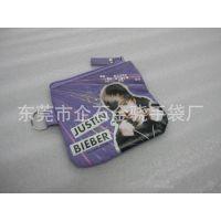 东莞工厂订做帆布拉链袋 欧美明星小拉链袋 外贸出口