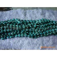 12*12*5mm正方形天然灌胶绿松石 绿松石 宝石 松石DIY饰品配件