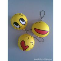 供应可爱卡通(充气球)钥匙挂件