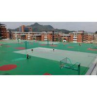 重庆塑胶篮球场地坪EPDM货号2233,厚度8mm,东大胶水,专业铺设现场加工