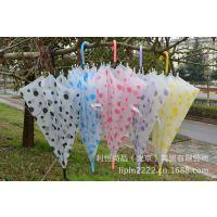 热销 广告伞 透明伞 绘画雨伞  可印logo 及做促销礼品伞