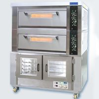 供应新麦SM-502+10F 组合式二层四盘烤炉加10盘醒发箱