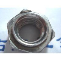 供应碳钢六角焊接螺母M6