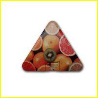 三角形超薄防水卡片式U盘 名片式u盘4g 广告礼品 定制批发图案U盘