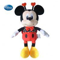 迪士尼正版米妮毛绒玩具创意儿童礼物女 可爱鼠鼠公仔婚庆娃娃