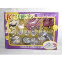直销不锈钢餐具玩具 仿真餐具 玩具 迷你餐具玩具 赠品礼品玩具
