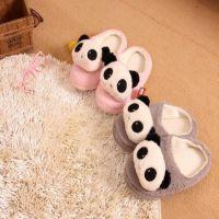 特价秋冬保暖棉拖棉鞋大头款熊猫女式拖鞋家居日用棉拖鞋包跟拖鞋