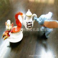 OEM订制 塑胶公仔 迪士尼 米老鼠情侣公仔 欢迎来图订做