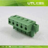 UTL供应优质端子MA2.5/HF7.62  乐清接线端子  公母接线端子