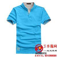 上海服装加工厂、翻领POLO衫订做、供应T恤衫