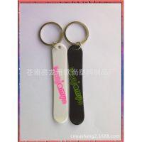 塑料钥匙扣滑雪板 塑胶广告促销礼品