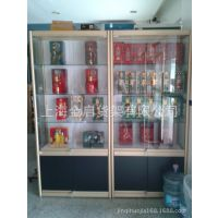 精品展示架 钛合金展柜 木质展柜 玻璃展 烟酒展示柜化妆品展示柜