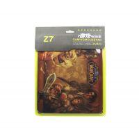 供应Z7精包装游戏鼠标垫 加厚3mm天然橡胶  笔记本电脑大鼠标垫