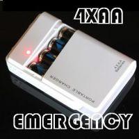 4XAA  应急充电器 4节5号干电池充电宝 电池充电器