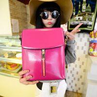 【雪琪女包】新款韩版迷你竖拉斜跨小包时尚单肩化妆包休闲手机包