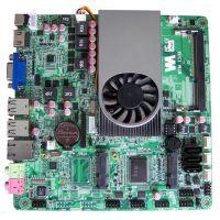嵌入式主板 ITX主板 1037U 双VGA 双网 10串口ITX-1037-2V-10