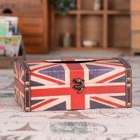 创意zakka 英伦风家居摆件 英国国旗纸巾盒 创意礼品工艺品C6003