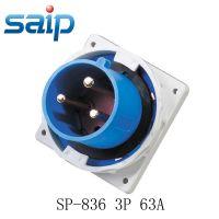 供应直批代理加盟 63A 三芯工业插头 户外暗装插头配合防水插座IP67