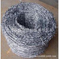 上海厂家批发优质铁刺丝热镀锌刺绳防盗防爬铁蒺藜