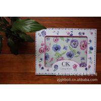 【旷世工艺】***专业厂家供应 C&K促销单 钢化玻璃菜板 图案可定制