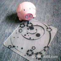 厂家定制高档创意亚克力鼠标垫 表面磨砂防滑有机玻璃鼠标垫
