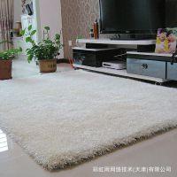 厂家直销韩国弹力丝旗客厅卧室茶几地毯地垫140cm*170cm