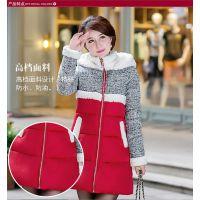 时尚冬季羽绒棉服秋冬外套热销中长款棉衣批发呼和浩特直销