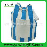 深圳龙岗厂家 订做高档帆布保温包 外贸保温桶包