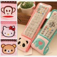可爱萌hello kitty小象 熊猫马戏象 空调电视遥控器保护套