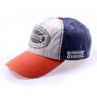 青岛2015生产定做帽子长期加工定做水洗牛仔棒球帽 大沿帽 盆帽