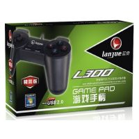 供应游戏耗材批发 蓝觉手柄 电脑游戏手柄 USB手柄 L-300 小手柄 游戏