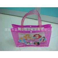 卡通PVC袋 透明手提袋 立体手提袋厂家 欢迎咨询