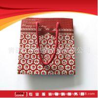 纸袋印刷 厂家定做创意礼品袋 白板纸正方形竖版手提袋