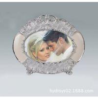 6寸创意欧式情侣相框 影楼婚纱家居摆台照片相框 供应椭圆相框