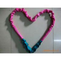 神州SW013江苏泰州专业定制5t双头扣高强度起重环型软吊带 环形涤纶柔性吊装带