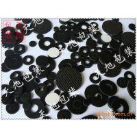 厂家供应 来图定做防水橡胶垫片 双面背胶密封黑色圆形橡胶垫