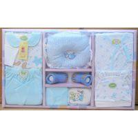 新生儿四季可用婴儿礼盒装,宝宝礼盒纯棉10件套,工厂货号6036