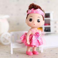 新品上市 纱巾玫瑰花迷糊娃娃礼物批发 迷糊娃娃挂件RX10-15cm