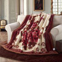 新款特价 拉舍尔绒毛毯毯子批发婚庆毛毯毯子 众多花色厂家直销