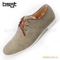 BSQT 休闲帆布鞋  英伦透气皮鞋 热卖爆款 G170