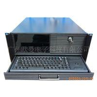 国内4U一体机 一体化工作站主机 带液显示屏带键盘鼠标