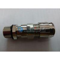 金属双密封铠装防爆电缆固定接头,单密封铠装接头