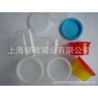 各种尺寸的透明塑料盒、迷你型塑料桶、橡皮泥桶、彩泥桶