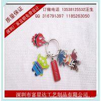 供应台湾旅游纪念钥匙扣/采用烤漆工艺制作/低价钥匙扣厂家直供//
