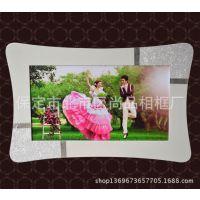 厂家直销 精美高档白色婚纱照相框 烤漆相框 影楼相框 亚米奇