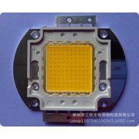 100W集成光源采用光宏45芯片 10串10并 中性白4000K 质保三年