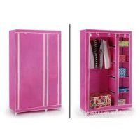 厂家直销简易衣柜 无纺布衣柜 折叠衣柜 简易家具 特价批发