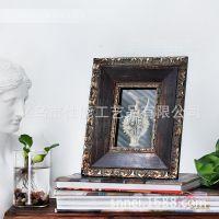 S27D6-K 浓情盛典照片框 埃及复古风相片架 纯手工木制高档