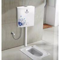 居冉卫浴蹲便器塑料水箱 马桶水箱 蹲坑专用水箱 工程批发特价