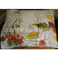 厂家加工布艺抱枕 刺绣抱枕 棉麻靠枕 广告抱枕定制 沙发亚麻靠垫